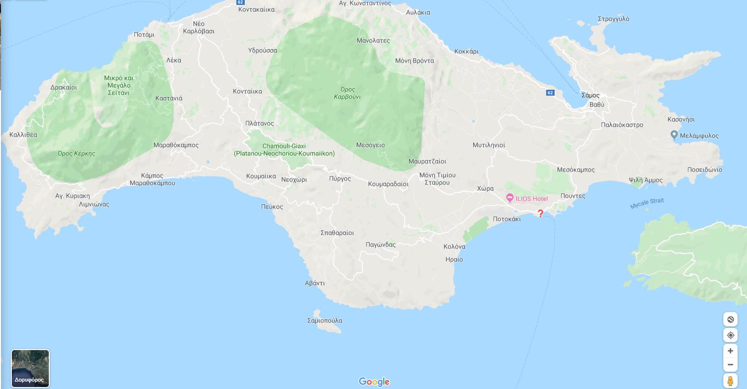 Πυθαγόρειο - Λιμάνι